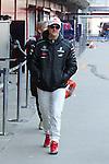 22.02.2012 Barcelona Spain. Formula One testind day2. Mercedes AMG F1 Team with German driver Michael Schumacher