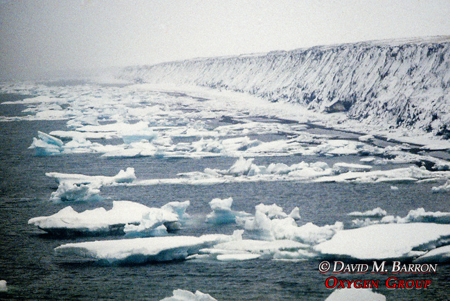 Cliffs Along Arctic Ocean