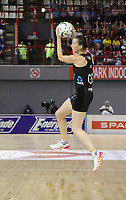 JOHANNESBURG, SOUTH AFRICA - JANUARY 25: Bailey Mes of the Silver Ferns in action against the SPAR Proteas   during the Netball Quad Series netball match between Spar Proteas and Silver Ferns at the Ellis Park Arena in Johannesburg. Mandatory Photo Credit: ©Reg Caldecott/Michael Bradley Photography