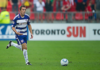 July 24, 2010 FC Dallas midfielder Eric Alexander #24 in action during a game between FC Dallas and Toronto FC at BMO Field in Toronto..Final score was 1-1.