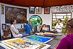 Costa Rica. artist's studio