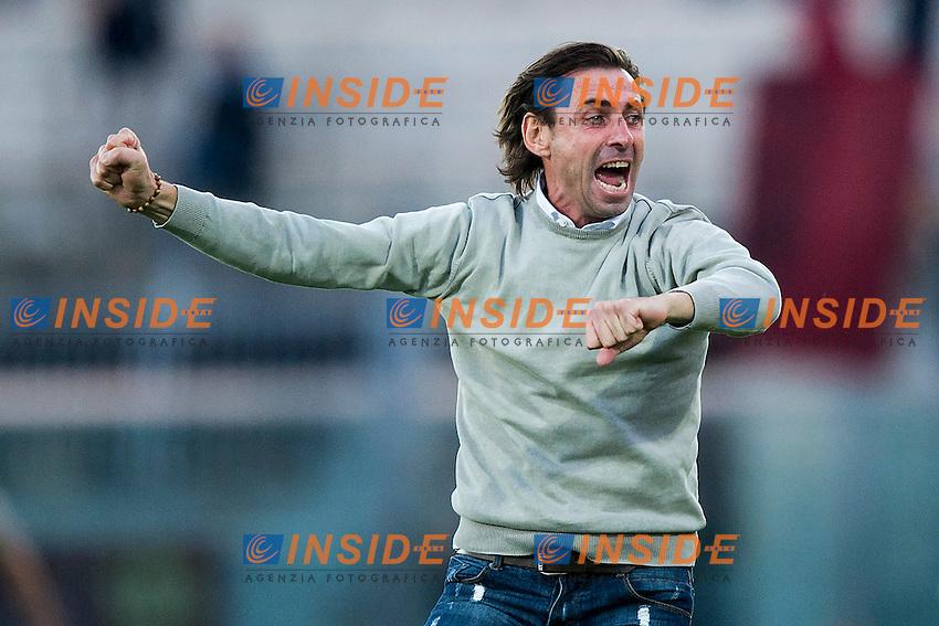 Carmine Gautieri Livorno<br /> Livorno 01-11-2014 Stadio Armando Picchi - Football Calcio Serie B 2014 / 2015 Livorno - Bologna<br /> Foto Andrea Masini / Insidefoto
