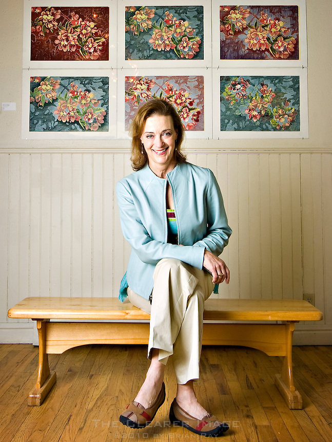 Marion Kahn, seen here in the main gallery of the Depot Art Center in Steamboat Springs on Friday morning, is the new executive director of the Steamboat Springs Arts Council.