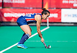 ROTTERDAM - Laura Hurff (USA)   tijdens de Pro League hockeywedstrijd dames, Netherlands v USA (7-1)  .  COPYRIGHT  KOEN SUYK