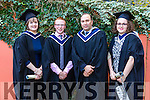 Bachelor of Arts Information systems Managent, N iamh O'Donnell, Michael Mac Sweeney, Samir Bettayeb, Christine Poff, at the Institute of Technology Tralee Autumn Conferring of Awards Ceremony at the Brandon Hotel on Friday
