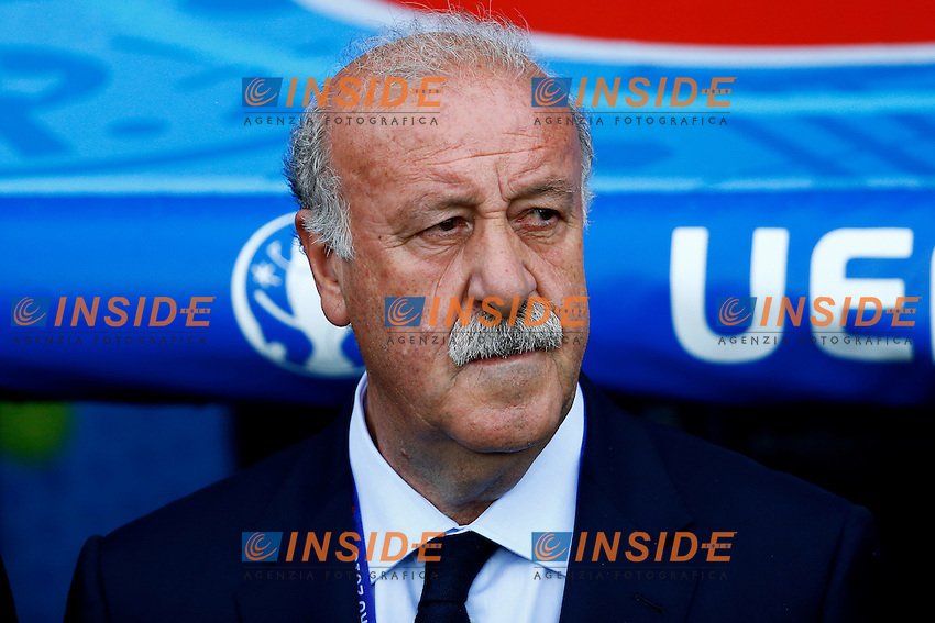 Vicente Del Bosque Spain <br /> Toulouse 13-06-2016 Stade de Toulouse Footballl Euro2016 Spain - Czech Republic  / Spagna - Repubblica Ceca Group Stage Group D. Foto Matteo Ciambelli / Insidefoto