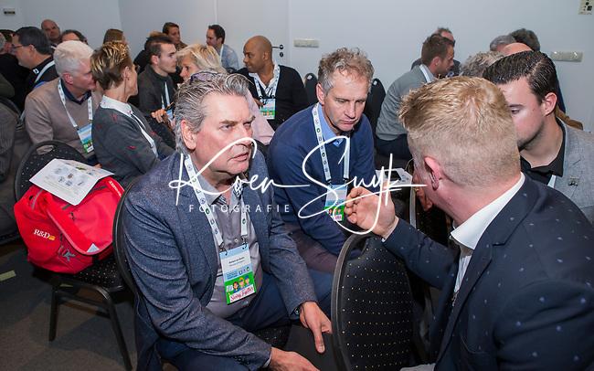 BUSSUM - Gerard Louter, Richard van Stralen.    Nationaal Golf Congres & Beurs. COPYRIGHT KOEN SUYK