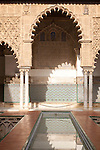 Palace of Pedro First, historic moorish palace architecture in the Alcazar, Seville, Spain
