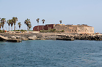 French-built (1850) Fort d'Estrees, now the IFAN Historical Museum, Goree Island, Senegal.