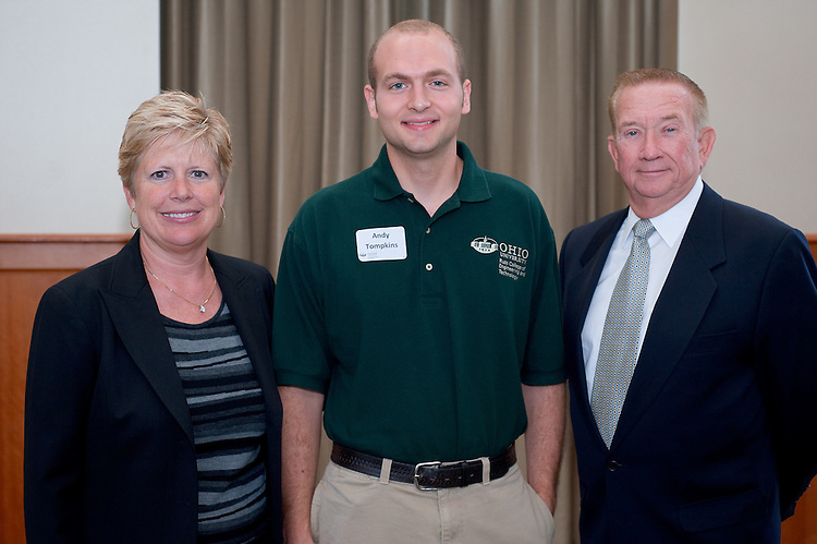 19039Scholarship Luncheon for the College of Engineering: In Walter Hall 9/12/08....Debra Boger, Andy Tompkins ,   Emmett Boyle