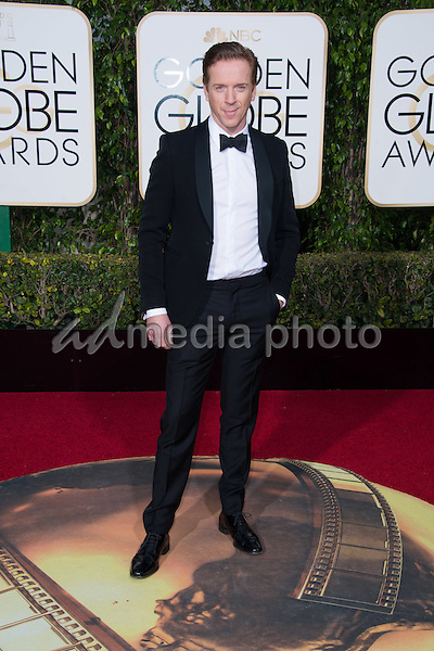 "Damian Lewis, Golden Globe nominee for BEST PERFORMANCE BY AN ACTOR IN A SUPPORTING ROLE IN A SERIES, MINI-SERIES OR MOTION PICTURE MADE FOR TELEVISION for his role in ""Wolf Hall,"" arrives at the 73rd Annual Golden Globe Awards at the Beverly Hilton in Beverly Hills, CA on Sunday, January 10, 2016. Photo Credit: HFPA/AdMedia"