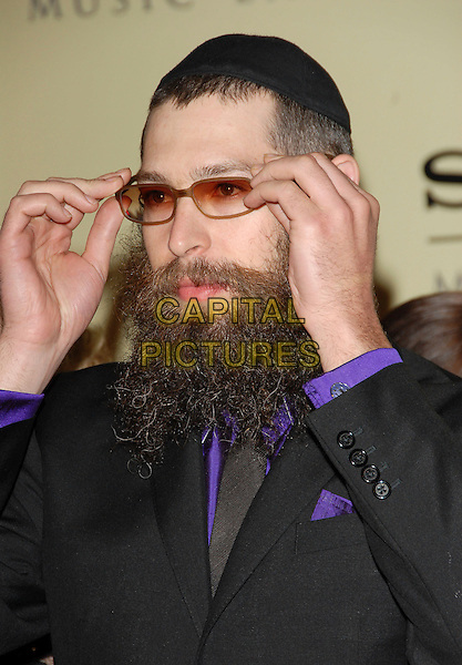 MATISYAHU.attends The Sony / BMG Post Grammy Party held at The Beverly Hills Hotel in Beverly Hills, California, USA, February 11 2007..half length glasses beard.CAP/DVS.©Debbie VanStory/Capital Pictures