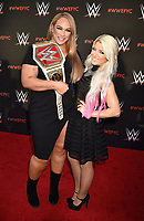 NORTH HOLLYWOOD, CA - JUNE 06: Nia Jax (L) and Alexa Bliss attend WWE's first-ever Emmy 'For Your Consideration' event at Saban Media Center on June 6, 2018 in North Hollywood, California.<br /> CAP/ROT/TM<br /> &copy;TM/ROT/Capital Pictures