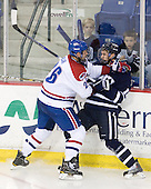 Ryan Blair (Lowell - 26), Jeff Silengo (UNH - 18) - The visiting University of New Hampshire Wildcats defeated the University of Massachusetts-Lowell River Hawks 3-0 on Thursday, December 2, 2010, at Tsongas Arena in Lowell, Massachusetts.