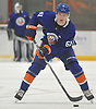 Ben Mirageas #61 plays during the final scrimmage of New York Islanders Mini Camp at Northwell Health Ice Center in East Meadow on Saturday, June 30, 2018.