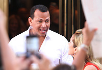 NEW YORK, NY - AUGUST 2: Alex Rodriguez seen at NBC's Today Show in New York City on August 2, 2018. <br /> CAP/MPI/RW<br /> &copy;RW/MPI/Capital Pictures