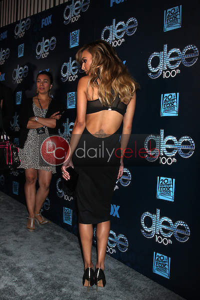 Naya Rivera<br /> at the GLEE 100th Episode Party, Chateau Marmont, West Hollywood, CA 03-18-14<br /> David Edwards/DailyCeleb.Com 818-249-4998