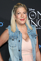 05 August 2017 - Los Angeles, California - Tori Spelling. &quot;The Lion King&quot; Sing-Along Screening. <br /> CAP/ADM/FS<br /> &copy;FS/ADM/Capital Pictures