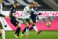 Domenico Berardi-Marcelo Brozovic <br /> Milano 19-1-2019 Giuseppe Meazza stadium Football Serie A 2018/2019 Inter - Sassuolo <br /> Foto Image Sport / Insidefoto