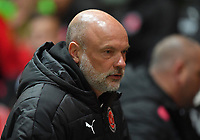Fleetwood Town's Manager Uwe Rosler<br /> <br /> Photographer Dave Howarth/CameraSport<br /> <br /> EFL Checkatrade Trophy - Northern Section Group A - Fleetwood Town v Morecambe - Tuesday 3rd October 2017 - Highbury Stadium - Fleetwood<br />  <br /> World Copyright &copy; 2018 CameraSport. All rights reserved. 43 Linden Ave. Countesthorpe. Leicester. England. LE8 5PG - Tel: +44 (0) 116 277 4147 - admin@camerasport.com - www.camerasport.com