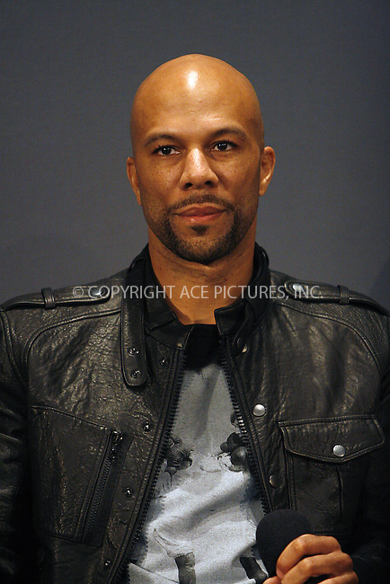 WWW.ACEPIXS.COM . . . . .  ....May 6 2010, New York City....Singer Common speaks in the Apple Store in Soho on May 6 2010 in New York City....Please byline: NANCY RIVERA- ACE PICTURES.... *** ***..Ace Pictures, Inc:  ..tel: (212) 243 8787 or (646) 769 0430..e-mail: info@acepixs.com..web: http://www.acepixs.com