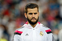Nacho of Real Madrid during the Champions League group B soccer match between Real Madrid and FC Basel 1893 at Santiago Bernabeu Stadium in Madrid, Spain. September 16, 2014. (ALTERPHOTOS/Caro Marin) /NortePhoto.com