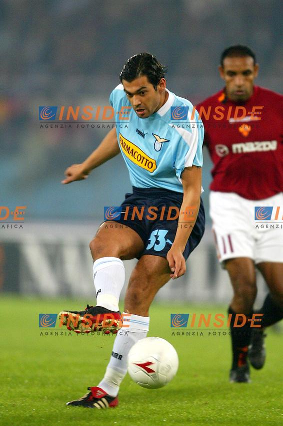 Roma 9/11/2003 <br /> Roma Lazio 2-0 <br /> Sergio Conceicao (Lazio)<br /> Foto Andrea Staccioli Insidefoto