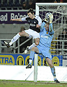 27/01/2010  Copyright  Pic : James Stewart.sct_jspa13_falkirk_v_motherwell  .::  CARL FINNIGAN CHALLENGES JOHN RUDDY :: .James Stewart Photography 19 Carronlea Drive, Falkirk. FK2 8DN      Vat Reg No. 607 6932 25.Telephone      : +44 (0)1324 570291 .Mobile              : +44 (0)7721 416997.E-mail  :  jim@jspa.co.uk.If you require further information then contact Jim Stewart on any of the numbers above.........
