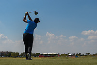 Pavarisa Yoktuan (THA) watches her tee shot on 18 during the round 3 of the Volunteers of America Texas Classic, the Old American Golf Club, The Colony, Texas, USA. 10/5/2019.<br /> Picture: Golffile   Ken Murray<br /> <br /> <br /> All photo usage must carry mandatory copyright credit (© Golffile   Ken Murray)