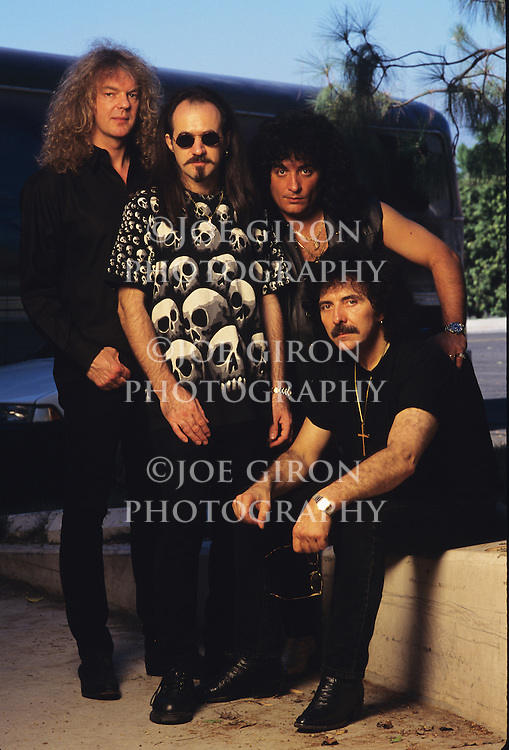 Various portrait sessions and live photographs of the rock band, Black Sabbath