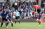 Alfredo Morelos scores the first goal for Rangers