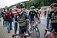 Lars van der Haar (NED/Telenet Baloise Lions) at the start of the inaugural GP Vermarc 2020; a symbolic important start for him as he battled coronavirus some months earlier in March, saying that he did not ride for six weeks.<br />