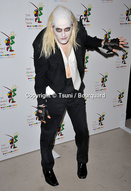 Lucas Grabeel     - 35th Anniversary Tribute to the Rocky Horror Pictures Show at the Wiltern Theatre In Los Angeles.