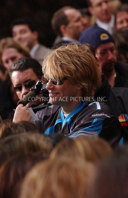 WWW.ACEPIXS.COM . . . . . ..New York, November 22, 2004: Bon Jovi performing live on 'Today Show.' Please byline: ACE006 - ACE PICTURES.. . . . . . ..Ace Pictures, Inc:  ..Alecsey Boldeskul (646) 267-6913 ..Philip Vaughan (646) 769-0430..e-mail: info@acepixs.com..web: http://www.acepixs.com