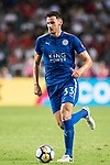 Leicester City FC defender Elliott Moore in action during the Premier League Asia Trophy match between Leicester City FC and West Bromwich Albion at Hong Kong Stadium on 19 July 2017, in Hong Kong, China. Photo by Weixiang Lim / Power Sport Images