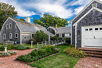 The Atwood House & Museum, Chatham, Cape Cod, Massachusetts, USA.