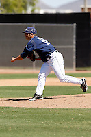 Zach Herr - San Diego Padres - 2009 spring training.Photo by:  Bill Mitchell/Four Seam Images
