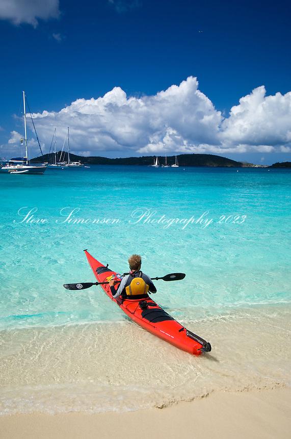 Honeymoon Beach, St John, Virgin Islands National Park.North Shore.US Virgin Islands