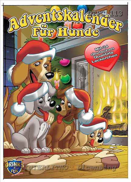 Eberle, Comics, CHRISTMAS ANIMALS, paintings+++++,DTPC113,#xa# Weihnachten, Navidad, illustrations, pinturas