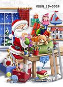 Roger, CHRISTMAS SANTA, SNOWMAN, WEIHNACHTSMÄNNER, SCHNEEMÄNNER, PAPÁ NOEL, MUÑECOS DE NIEVE, paintings+++++,GBRM19-0009,#x#
