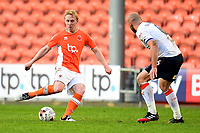 Blackpool's Mark Cullen in action<br /> <br /> Photographer Richard Martin-Roberts/CameraSport<br /> <br /> The EFL Sky Bet League Two Play-Off Semi Final First Leg - Blackpool v Luton Town - Sunday May 14th 2017 - Bloomfield Road - Blackpool<br /> <br /> World Copyright &copy; 2017 CameraSport. All rights reserved. 43 Linden Ave. Countesthorpe. Leicester. England. LE8 5PG - Tel: +44 (0) 116 277 4147 - admin@camerasport.com - www.camerasport.com