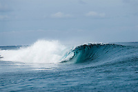 "Surfing spot ""The Hole"", Mentawai Islands, Indonesia"