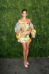 Shanina Shaik attends the Fifteenth Annual CFDA/Vogue Fashion Fund Awards at the Brooklyn Navy Yard building 28, at 63 Flushing Avenue, on November 5, 2018.