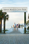 Florida, Anna Maria Island, City Pier, Manatee County, Tampa Bay, Beach, Sunset
