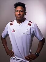 Samipeni Finau. The 2017 New Zealand Schools Barbarians rugby union headshots at the Sport and Rugby Institute in Palmerston North, New Zealand on Monday, 25 September 2017. Photo: Dave Lintott / lintottphoto.co.nz