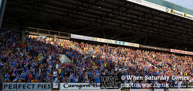 St Johnstone 1 Eskisehirspor 1, 26/07/2012. McDiarmid Park, Europa League Qualifying Round. Photo by Paul Thompson.