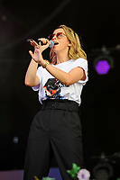 LONDON, ENGLAND - SEPTEMBER 9: Natalie Appleton of 'All Saints' performing at BBC Radio 2 Live in Hyde Park, on September 9, 2018 in London, England.<br /> CAP/MAR<br /> &copy;MAR/Capital Pictures
