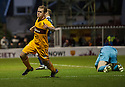 Motherwell's Nicky Law celebrates after he scores Motherwell's second goal?