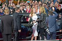 Berlin, Dienstag (04.06.13), Angelina Jolie bei der Deutschlandpremiere des Films World War Z.<br /> Foto: Michael Gottschalk/CommonLens