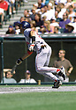 CIRCA 1997: Nomar Garciaparra #5 of the Boston Red Sox at bat during a game from his 1997 season against the Cleveland Indians. Nomar Garciaparra played for 14 season for 4 different teams and was a 6-time All-Star.(Photo by: 1997 SportPics)  *** Local Caption *** Nomar Garciaparra